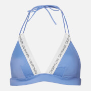 Calvin Klein Women's Fixed Triangle Bikini Top - Persian Jewel