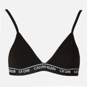 Calvin Klein Women's Unlined Triangle Bra - Black