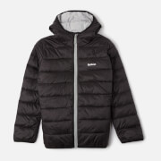 Barbour Boys' Trawl Quilted Jacket - Black