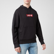 Levi's Men's Relaxed Graphic Hoodie - Mineral Black