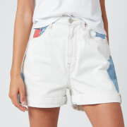 Tommy Jeans Women's Mom Shorts - Cloudy Light Blue