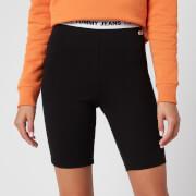 Tommy Jeans Women's Legging Shorts - Black