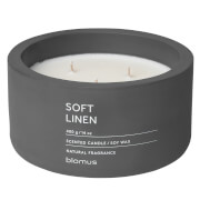 Blomus Fraga Scented 3 Wick Candle - Soft Linen