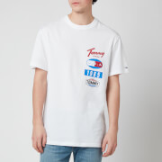 Tommy Jeans Men's Printed Patches Logo T-Shirt - White