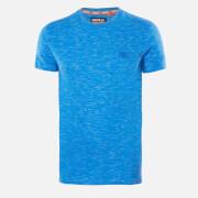 Superdry Men's Vintage Emblem T-Shirt - Cobalt Space Dye