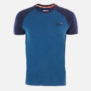 Superdry Men's Classic Baseball T-Shirt - Rich Blue Marl