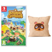 Animal Crossing: New Horizons + Tom Nook Cushion Pack