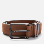 Ted Baker Men's Crumbs Nubuck Leather Belt - Brown