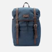 Ted Baker Men's Zafron Faux Nubuck Backpack - Navy
