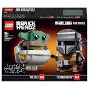 LEGO BrickHeadz Star Wars: The Mandalorian & The Child (75317)
