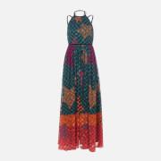 Ted Baker Women's Zohzoh Pinata High Neck Maxi Dress - Olive