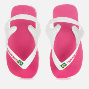 Havaianas Toddlers' Brasil Logo II Flip Flops - Hollywood Rose