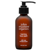 John Masters Organics Foaming Face Wash with Rose & Linden Flower 112ml