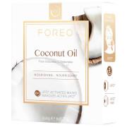 FOREO UFO Coconut Oil Mini Nourishing Face Mask (6 Pack)