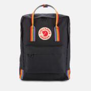 Fjallraven Kanken Rainbow Backpack - Black
