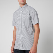 Tommy Hilfiger Men's Classic Twill Stripe Shirt - Carbon Navy