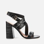 Ted Baker Women's Kaseraa Block Heeled Sandals - Black