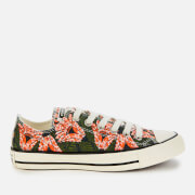 Converse Women's Chuck Taylor All Star Ox Trainers - Egret/Multi/Black