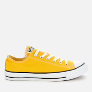 Converse Men's Chuck Taylor All Star Ox Trainers - Lemon Chrome