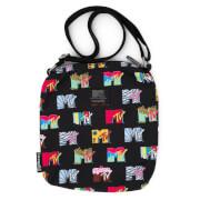Loungefly MTV Black Passport Bag Aop
