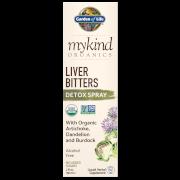 mykind Organics Herbal Liver Bitters Spray - 58ml