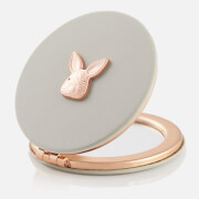 Olivia Burton Women's 3D Bunny Compact Mirror - Grey & Rose Gold