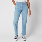 Levi's Women's Ribcage Straight Ankle Jeans - Tango Gossip