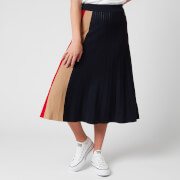 Tommy Hilfiger Women's Icon Pleated Skirt - Desert Sky