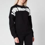 Love Moschino Women's Logo Sweatshirt - Black