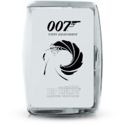 James Bond Every Assignment Top Trumps Card Game
