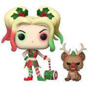 DC Comics Holiday Harley Quinn ith Helper Funko Pop! Vinyl