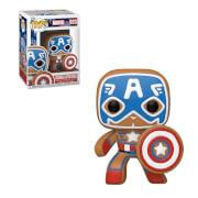 Marvel Holiday Captain America S3 Funko Pop! Vinyl