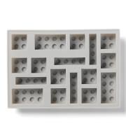LEGO Ice Cube Tray - Grey