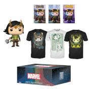 Funko Pop&Tee Y Comic Exclusivo PX - Loki - Caja Misteriosa