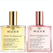 NUXE Huile Prodigieuse Oil and Mist Duo (Worth £59.00)
