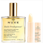 NUXE Exclusive Huile Prodigieuse Oil and Lip Stick Duo (Worth £35.50)