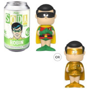 DC Comics Robin Vinyl Soda Figure In Collector Can