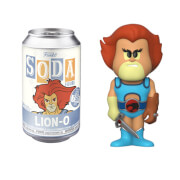 Thundercats Lion-O Vinyl Soda Figure in Collector Can