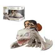 Funko Pop! Ride Harry Potter Dragon avec Harry, Ron & Hermione