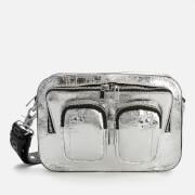 Núnoo Women's Ellie Metallic Cool Bag - Silver
