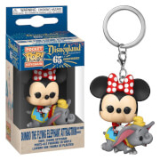 Disney 1955 Flying Dumbo Ride with Minnie Funko Pop! Keychain
