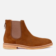Clarks Men's Clarkdale Gobi Suede Chelsea Boots - Dark Olive