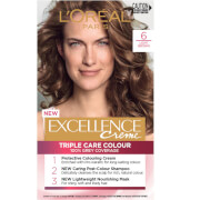L'Oréal Paris Excellence Creme Permanent Hair Colour - Light Brown 6.0