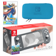 Nintendo Switch Lite (Grey) Pokémon Sword Pack