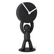 Umbra Buddy Desk Clock - Black