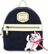 Loungefly Disney Mini Sac à Dos en Denim - Marie (Les Aristochats)