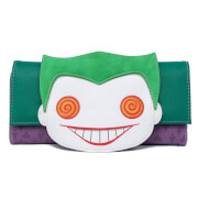 Loungefly DC Comics Pop Joker Eyes Wallet