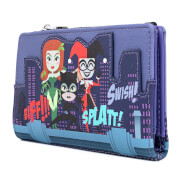 Loungefly Dc Comics Ladies Of Dc Aop Wallet
