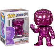Marvel Avengers 4 Purple Chrome Hulk EXC Funko Pop! Vinyl