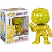 Marvel Avengers 4 Yellow Chrome Hulk EXC Funko Pop! Vinyl